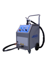 Asco szárazjeges tisztítógép Nanojet
