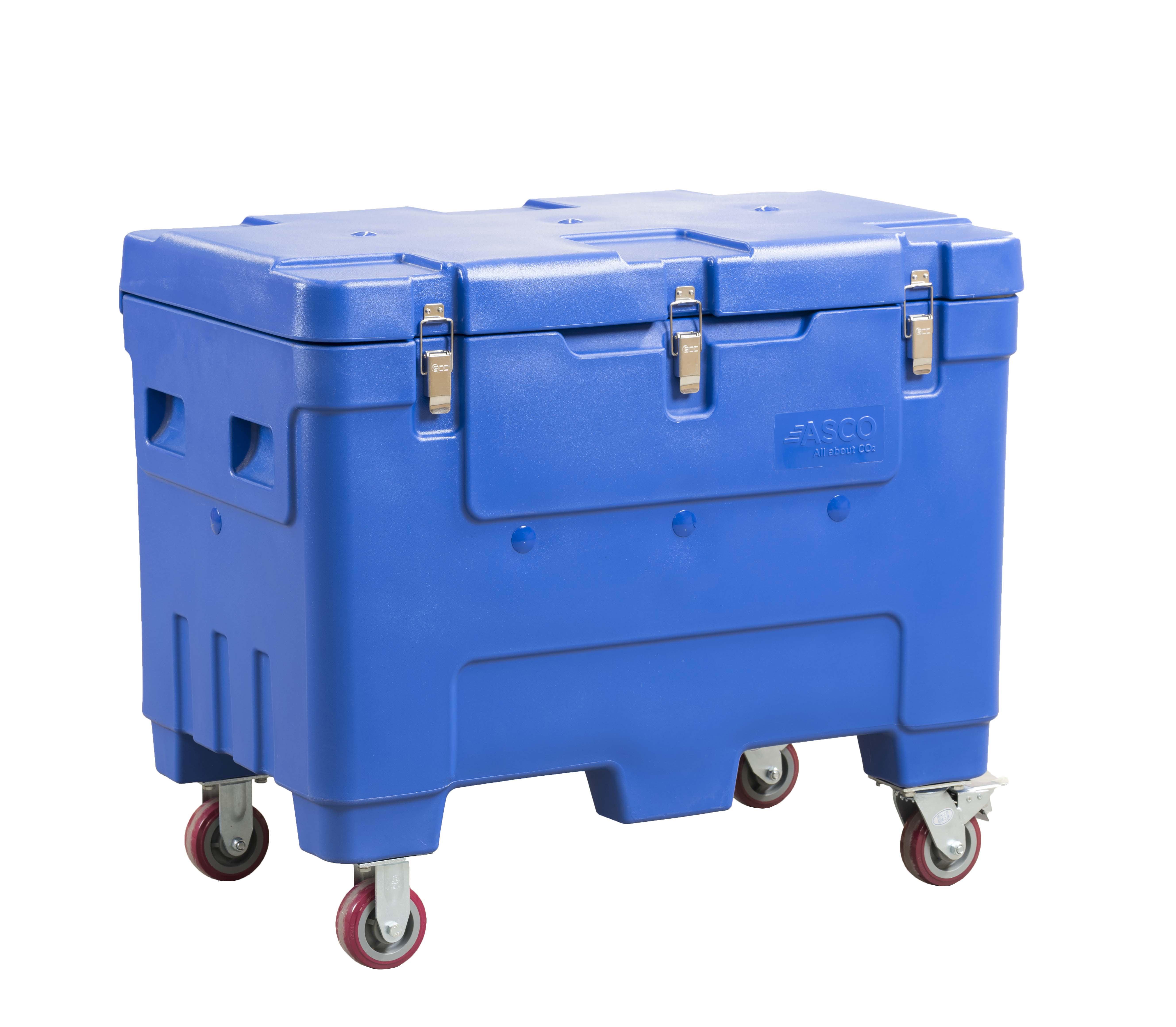 Asco szárazjeg tároló konténer AT240