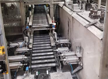 Automata robotos sorjázóállomás átépítése új termékhez