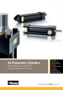 Parker 2A szériás pneumatikus munkahengerek