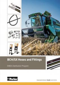 BCH/SX tömlők és fitting