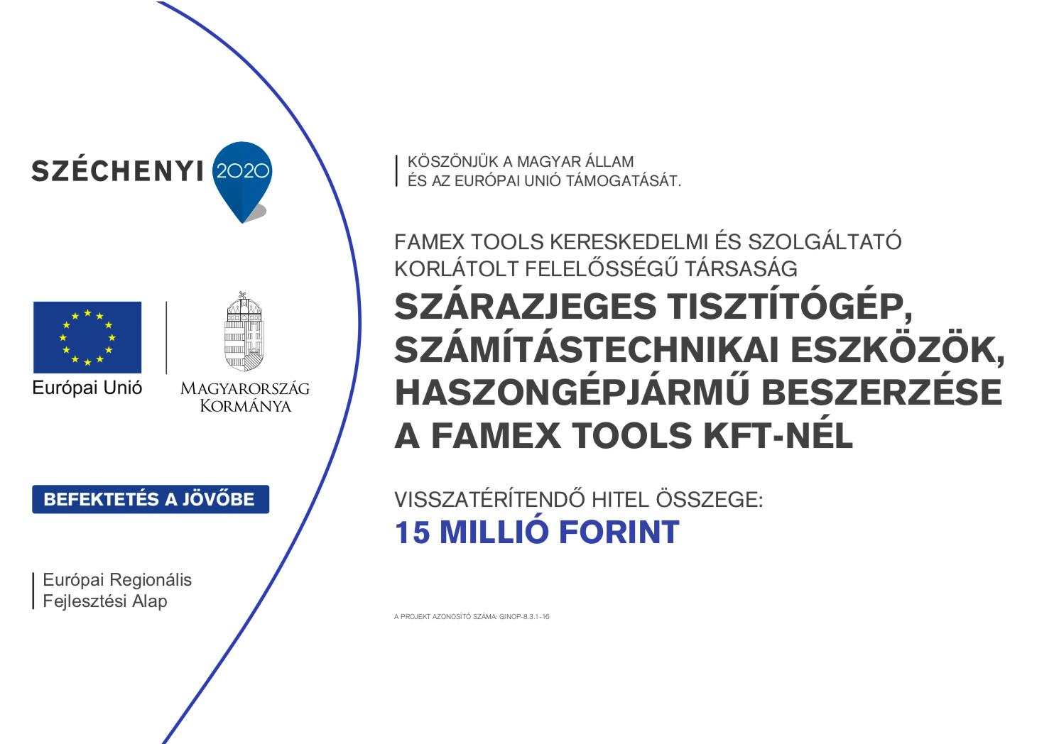 Széchenyi2020 pályázat